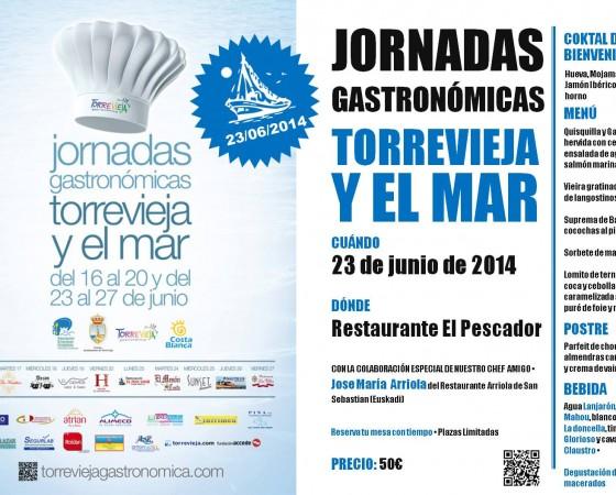 Jornadas gastronómicas Torrevieja y el mar 2014
