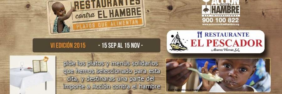 VI edición Restaurantes contra el hambre