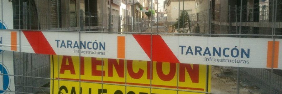 Obras de reurbanización de la calle Torrevejenses ausentes