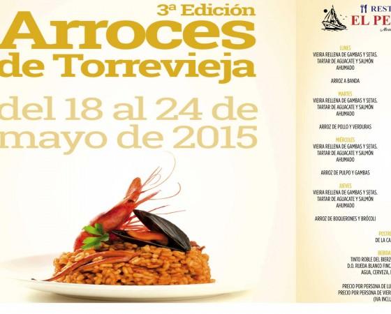 3ª Edición Arroces de Torrevieja