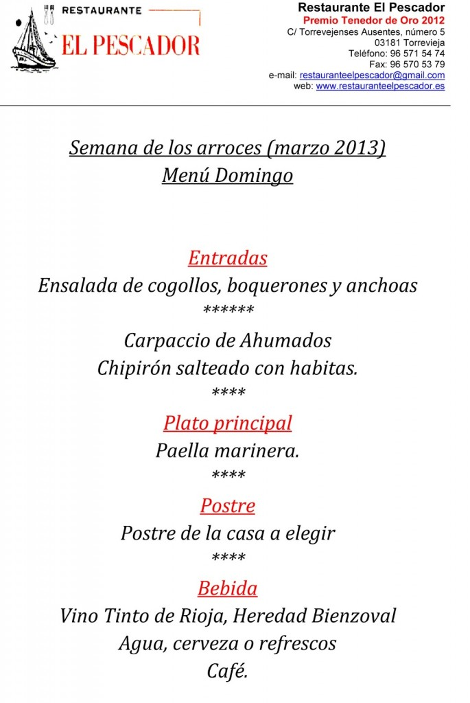 Menu-10-domingo-semana-de-los-arroces-Torrevieja---Restaurante-El-Pescador---marzo-2013-6