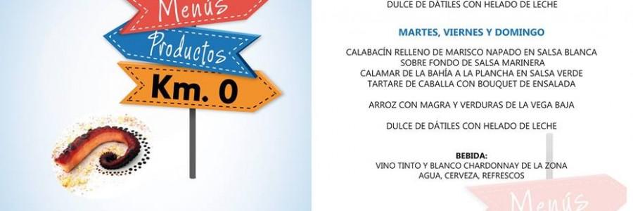 Sabores de Torrevieja, menús productos km 0