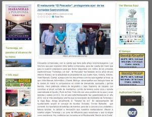 noticia objetivo torrevieja - jornadas gastronomicas torrevieja y el mar-2014-restaurante-el-pescador