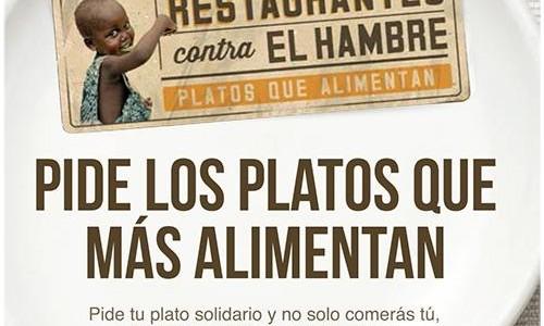 V edición Restaurantes contra el hambre