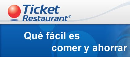Aceptamos Ticket Restaurant ®