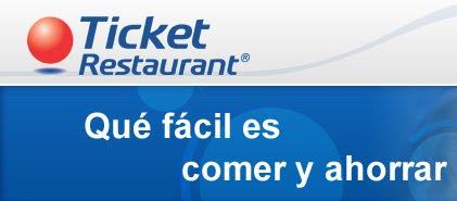 Aceptamos Ticket Restaurant ®