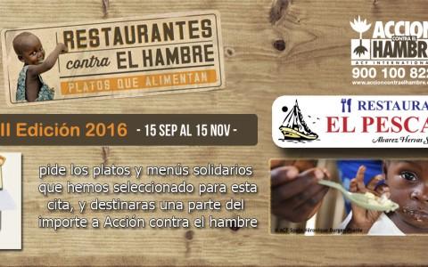 VII Edición – Restaurantes contra el hambre