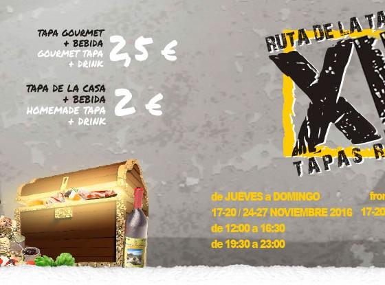 XIV Ruta de la tapa Torrevieja 2016