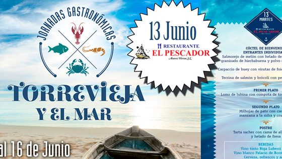 Jornadas gastronómicas Torrevieja y el Mar 2017